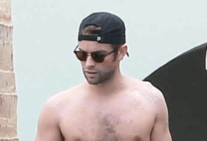 MAN CANDY: Check Chase Crawford's Bod, Booty & Bulge In Buff Beach Pics