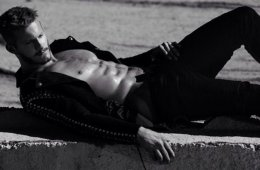 MAN CANDY: Alexander Ludwig Smoulders In Underwear Shoot For Flaunt Mag