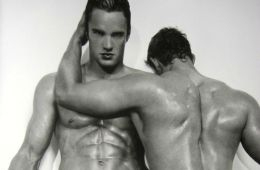 Did You Ever See The Totally Naked (And Homoerotic) Photos Of Thom Evans? [NSFW]