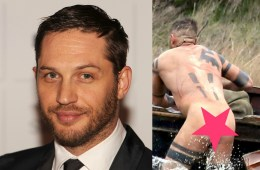 MAN CANDY: Tom Hardy Goes Skinny Dipping, Gets Papped Naked! [NSFW]
