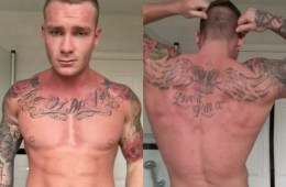 MAN CANDY: Hot Tattoo Hunk Gets Naked (Again) To Wish You A Happy Weekend [NSFW]