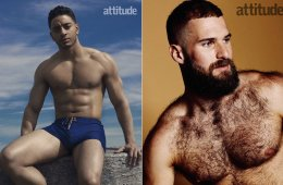 MAN CANDY: Laith Ashley & Matthew James Lister Strip for Double Delicious Attitude Covers