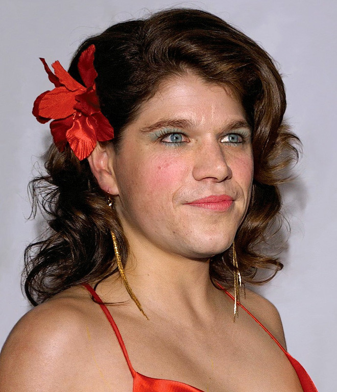 Internet jokers at the Design Crowd website have transformed a host of male celebrities into women.