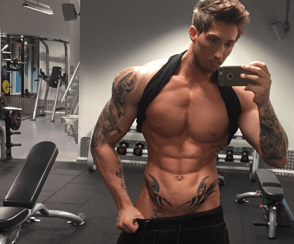 VIRAL: Fitness Model Demonstrates the Art of Naked Press-Ups [NSFW-ish]