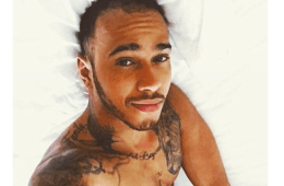 MAN CANDY: Lewis Hamilton Gets Hearts Racing with Saucy Bulging Snapchat