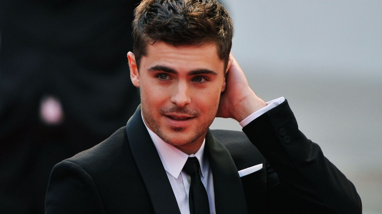 """VENICE, ITALY - AUGUST 31: Actor Zac Efron attends the """"At Any Price"""" premiere during the 69th Venice Film Festival at the Palazzo del Cinema on August 31, 2012 in Venice, Italy. (Photo by Gareth Cattermole/Getty Images)"""