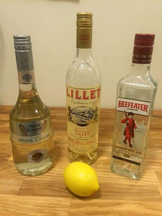 20th Century Cocktail Ingredients