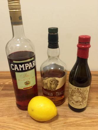 boulevardier cocktail ingredients