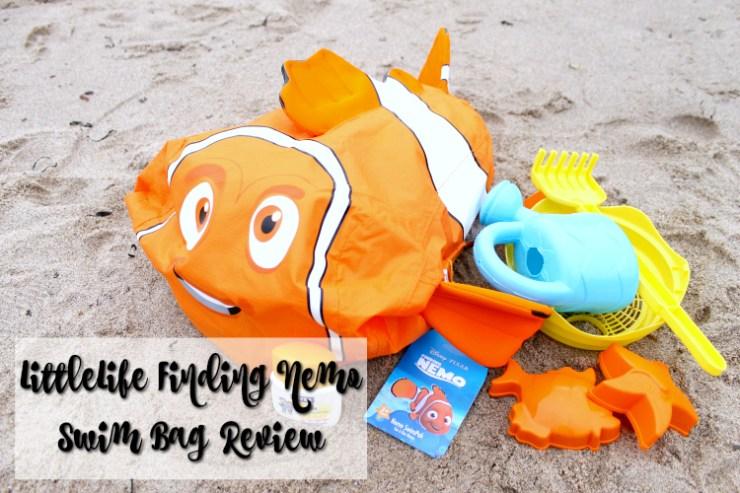 Cocktails in Teacups Disney Life Travel Parenting Blog LittleLife Finding Nemo Swim Bag Review