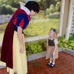 Snow White meets the fairest princess in all the landhellip