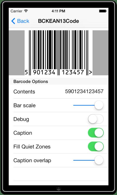 BarCodeKit iOS Demo