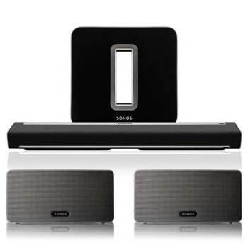 Sonos 5.1 Play:3 Home Theatre Bundle