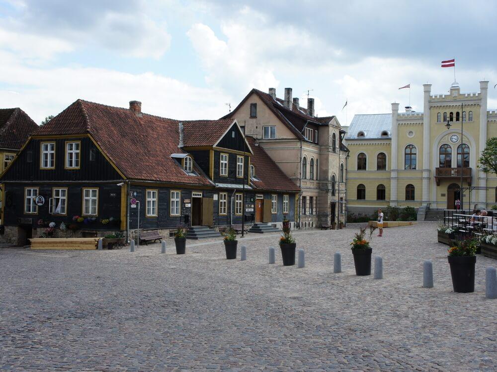 Kuldiga in Latvia - History and Movies
