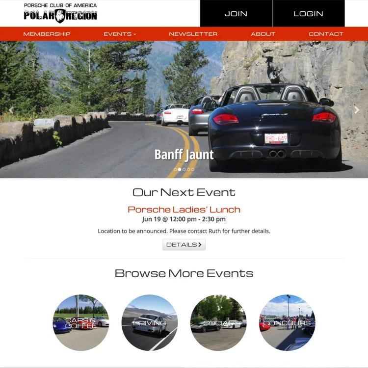 Porsche Club of America Polar Region