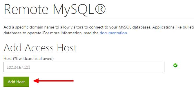 remote-mysql-database-access-cpanel-add-host-codexworld