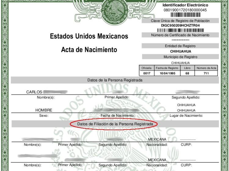 """Se queda todo México sin """"padre"""" y """"madre"""" en actas de nacimiento ..."""