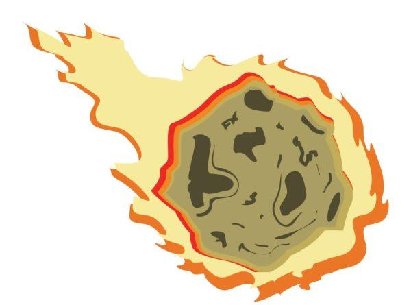 Flaming Meteor