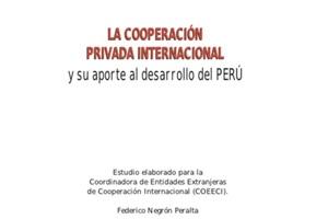Cooperacion internacional privada COEECI 2006