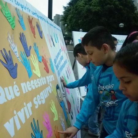 campaña contra la violencia infantil