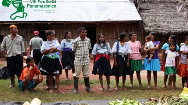 jovenes se preparan Foro Social Panamazonico