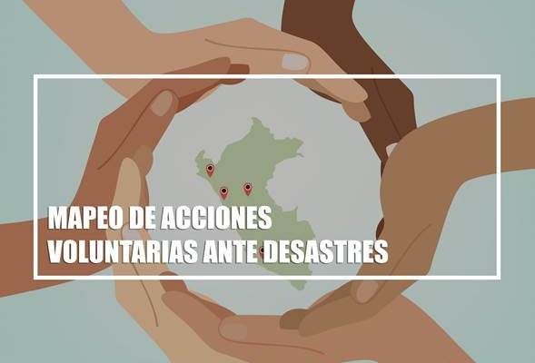mapeo de acciones desastres