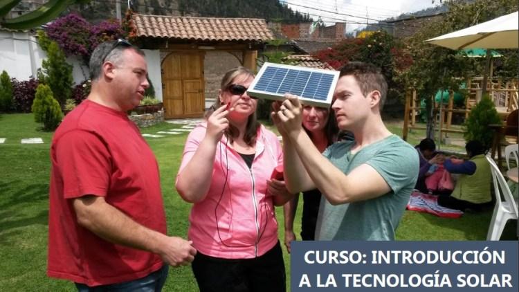 curso introduccion energia solar lutw peru