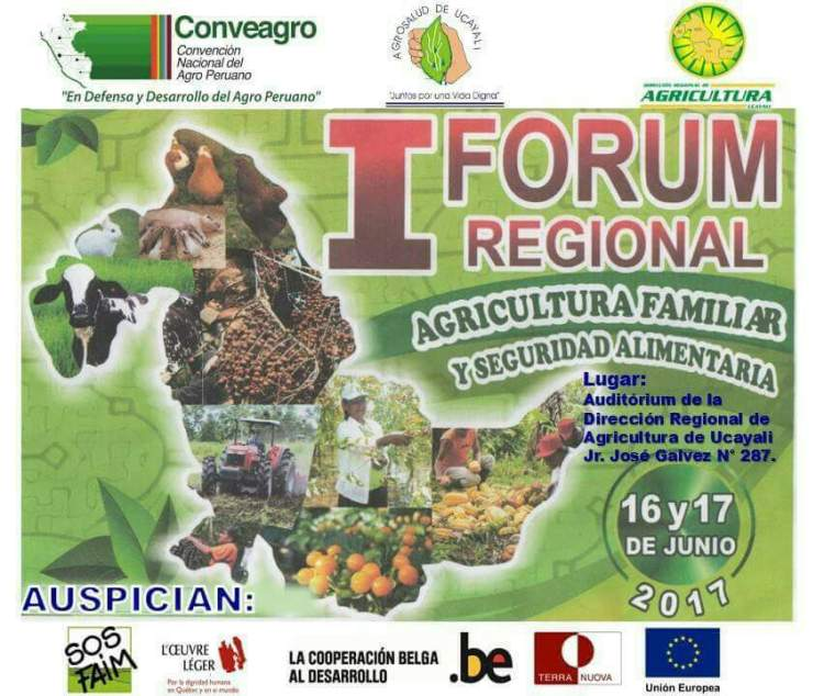 Forum Regional de Agricultura Familiar y Seguridad Alimentaria