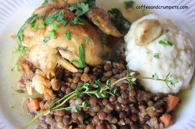 IMG 2660 1024x682 Chicken with 40 Cloves of Garlic