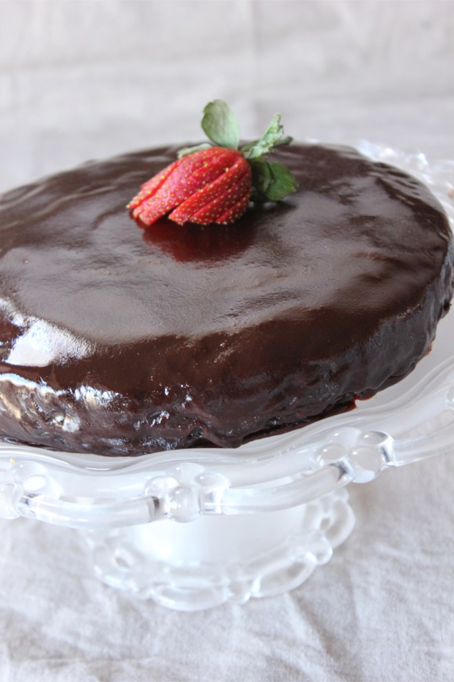 torte3 682x1024 Sachertorte for Valentines Day