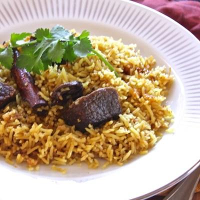 Yakhni Pullao ~ Beef Pullao