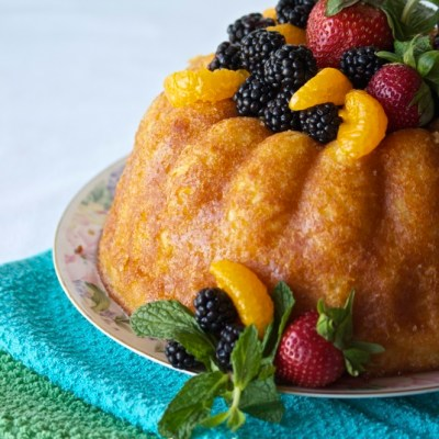 Orange Savarin | Daring Bakers' April Challenge