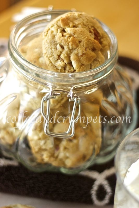pecan brown butter cookies