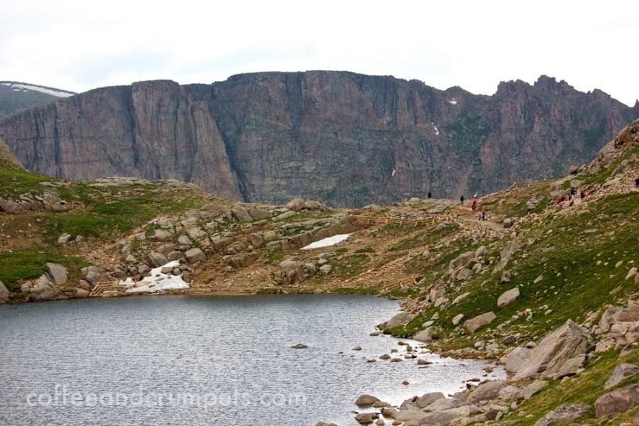 Summit Lake at Mount Evans