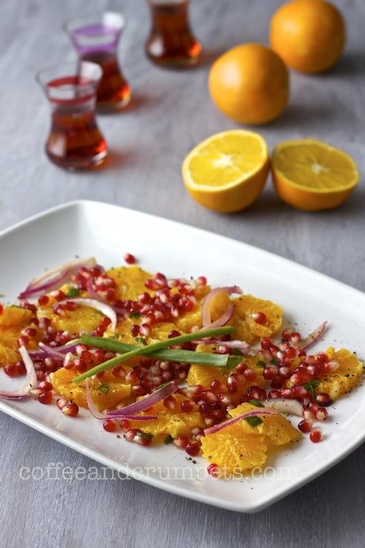 orange and pomegranate salad3