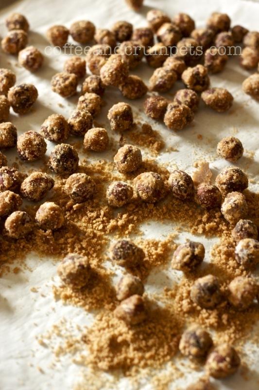 sugared hazlenuts
