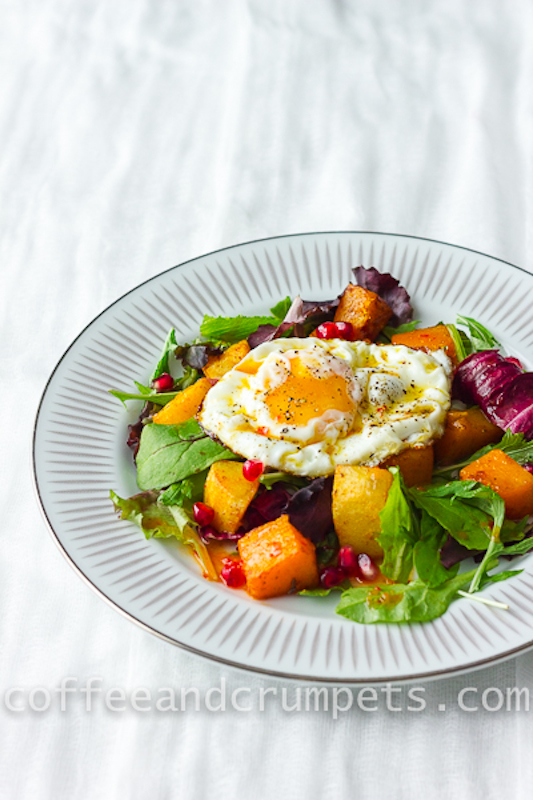Butternut Squash and Sweet Potato Salad-4