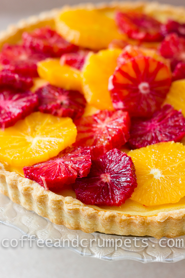 Blood Orange and Ricotta Tart-5