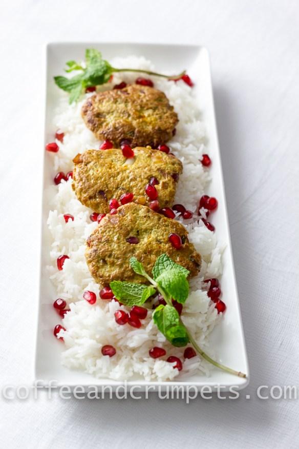 pomegranate chicken kebabs