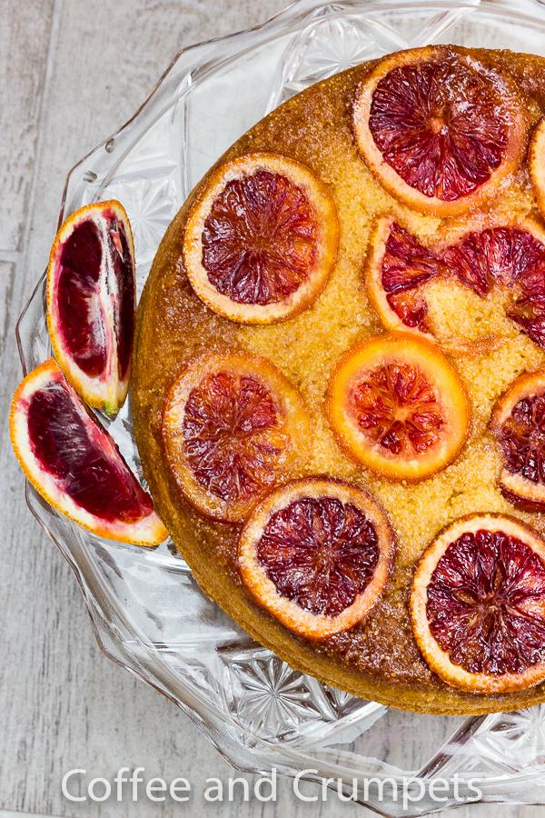 Blood Orange Upside Down Cake-1