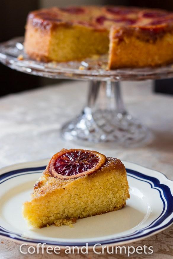 Blood Orange Upside Down Cake-3