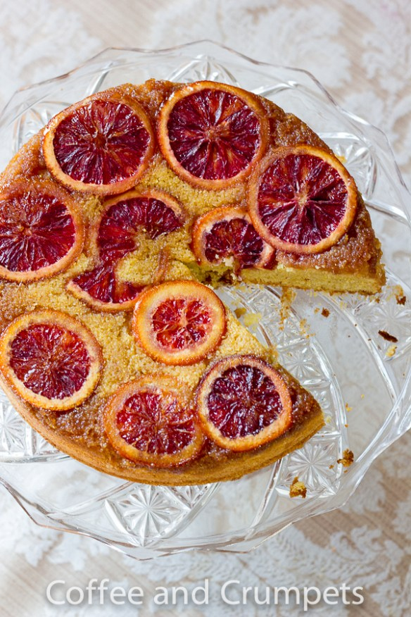 Blood Orange Upside Down Cake-5
