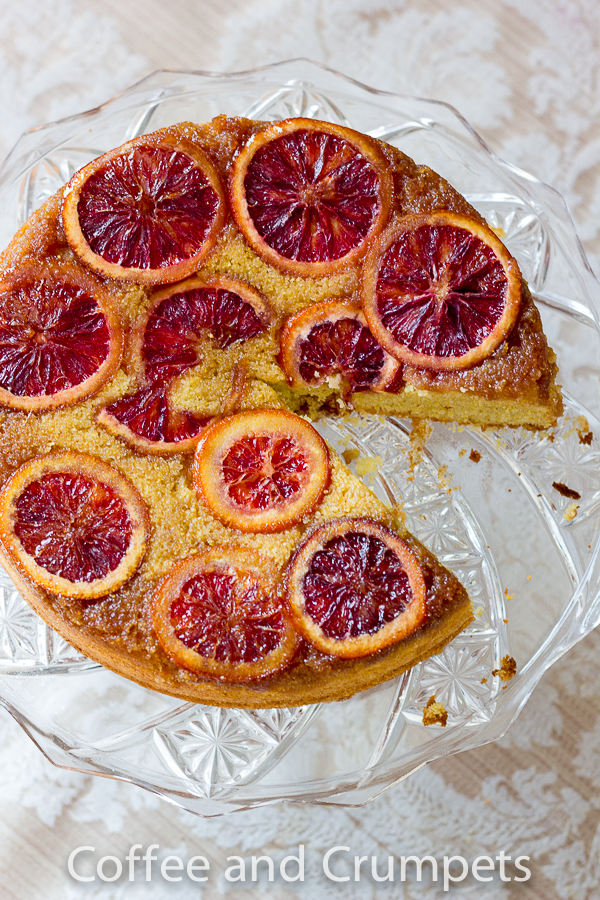 Blood Orange Upside Down Cake-5