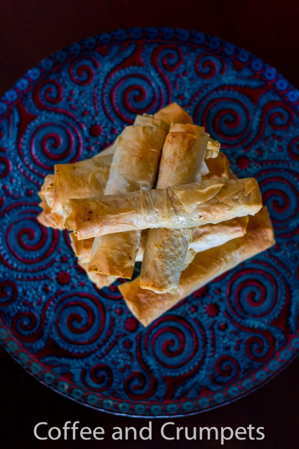 Sweet Potato Phyllo and Ground Beef Roll