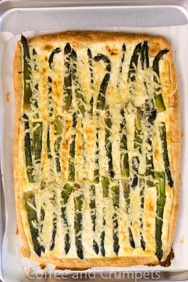 Asparagus and Emmentaler Tart-4