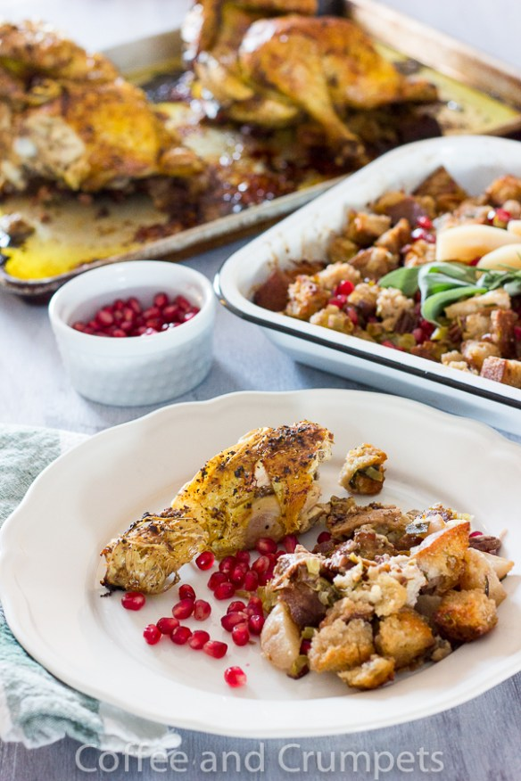 Pear and Pomegranate Stuffing-7