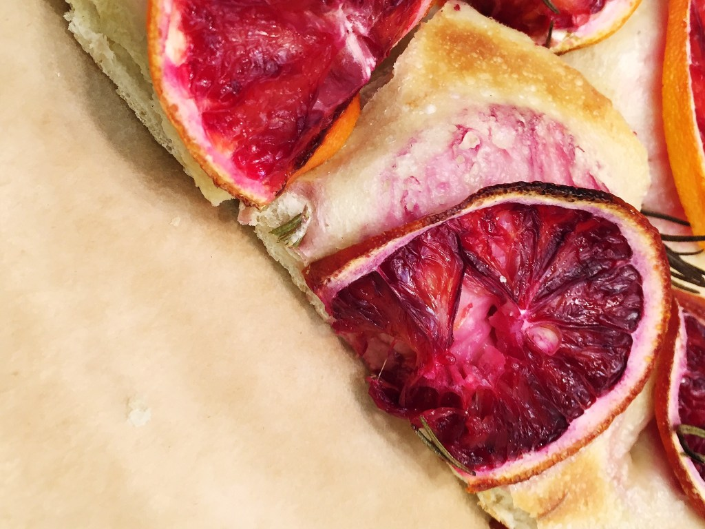 Blood Orange Focaccia