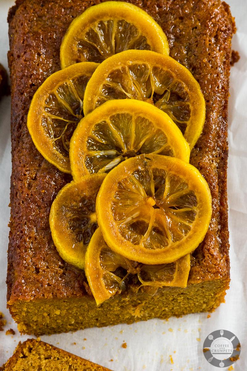 Moist Lemon Loaf Cake