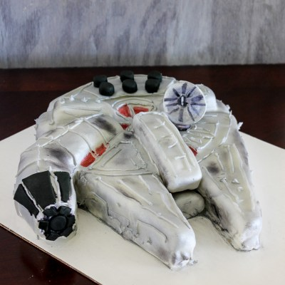 Millennium Falcon Cake | Star Wars Day