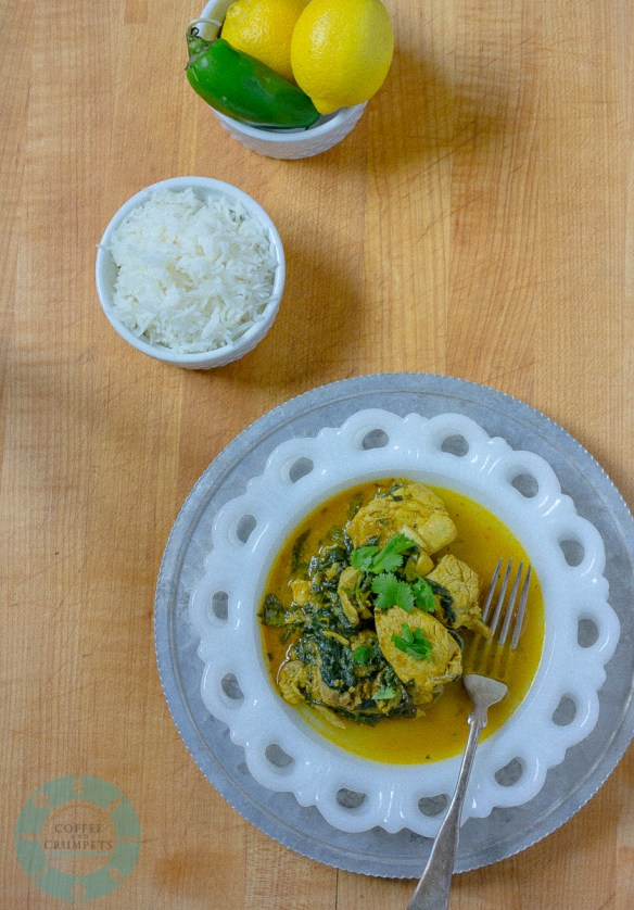 Chicken and Spinach Curry-