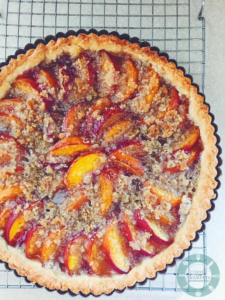 Peach Tart | Coffee and Crumpets